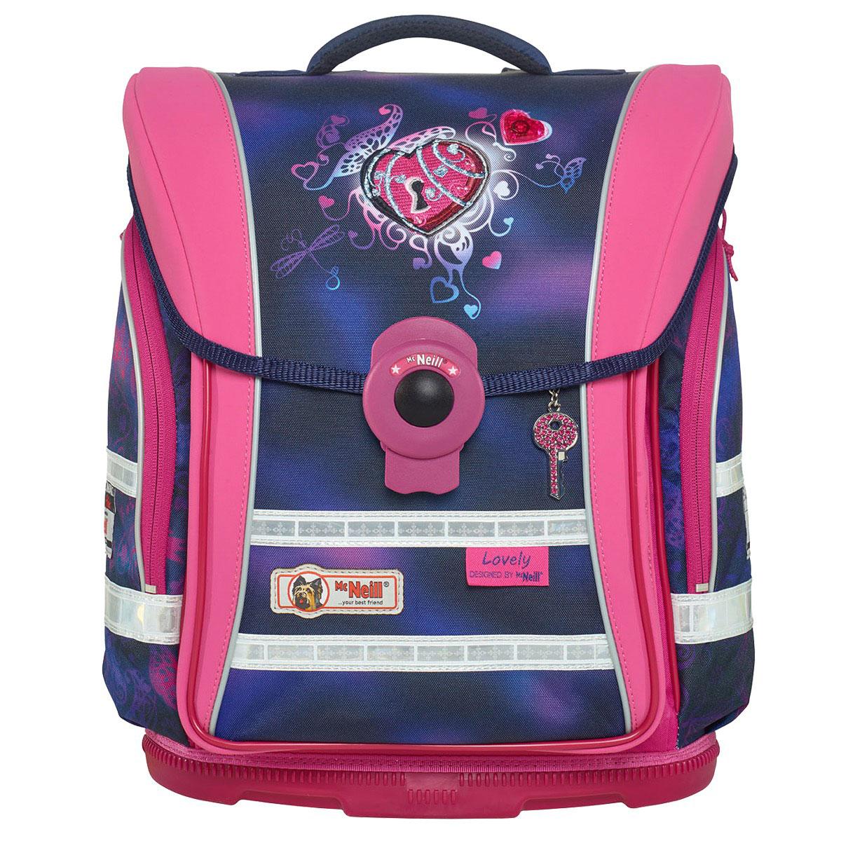McNeill-Schulranzen-ERGO-Light-COMPACT-flex-9604162000-pink-lila-herz