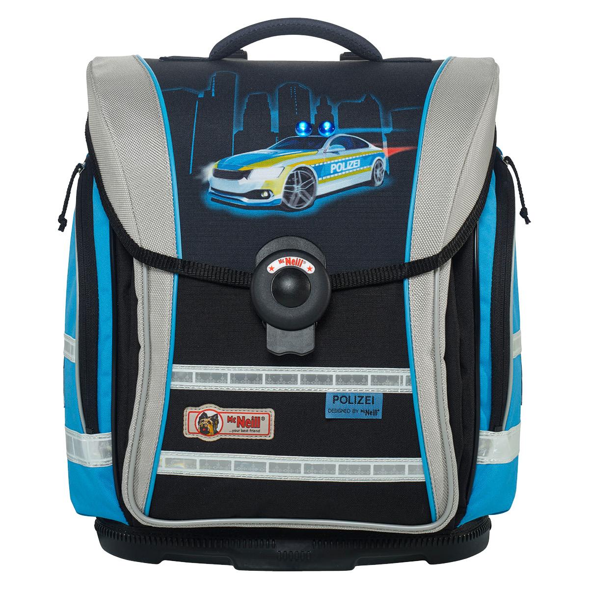 McNeill-Schulranzen-ERGO-Light-COMPACT-flex-9604183000-schwarz-blau-auto-polizei
