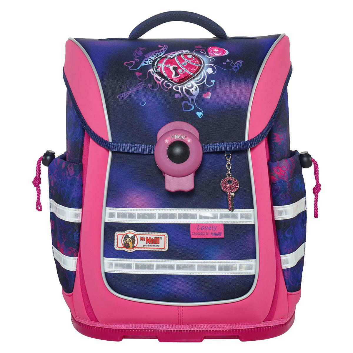 McNeill-Schulranzen-ERGO-Light-PURE-9630162000-pink-lila-herz
